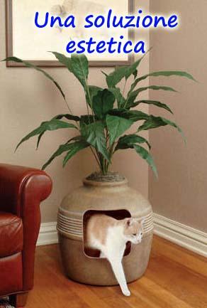 Lettiera per gatti fatta in casa